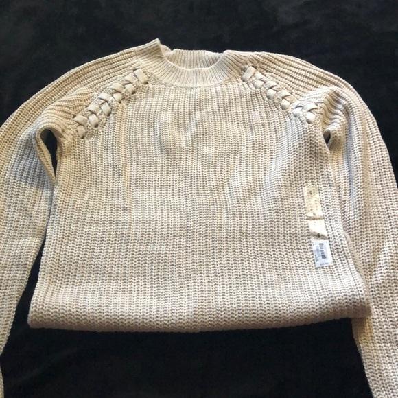 Juniors size small cream sweater